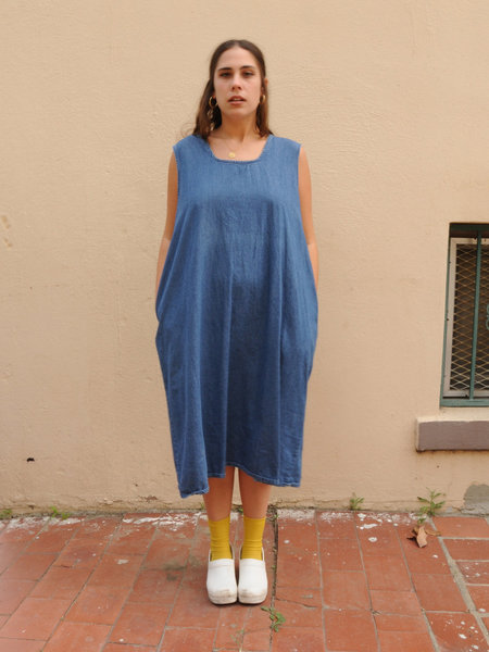 Weird Sisters Vintage Oversized Denim Dress