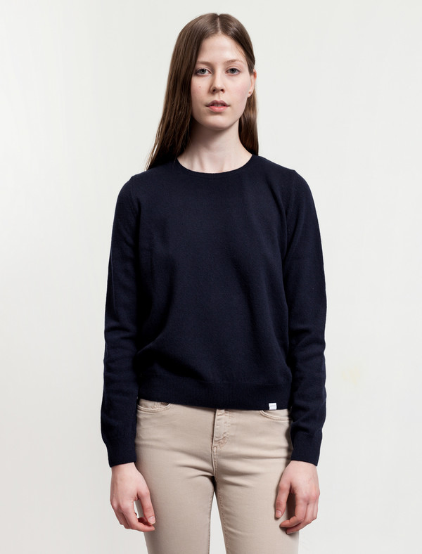 Norse Projects Freja Lambswool Navy