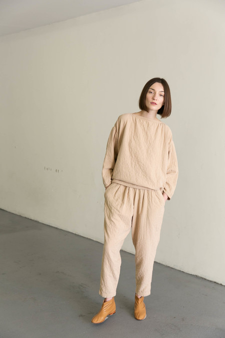 BLACK CRANE CARPENTER PANTS - PEACH