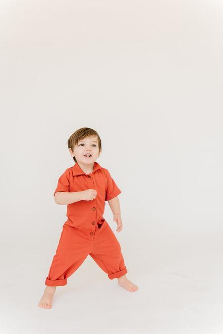 Kids James Street Co Uniform Jumpsuit