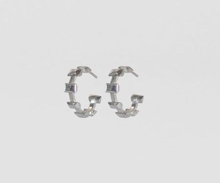 Lacar Dover Hoops - Silver