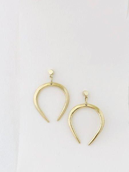 Mercurial NYC Libra Earrings - 14k Gold Plated