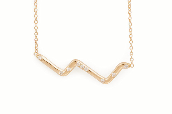 Shahla Karimi Subway Fine Necklace - Upper West Side to Lower East Side