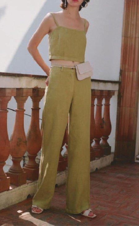 Paloma Wool Margherita Pant - Medium Green