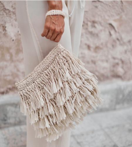 Angela Damman Medium Rio Fringe Bag
