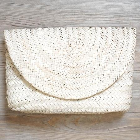Poolside Collective Poolside Bags L'Enveloppe Clutch - Straw