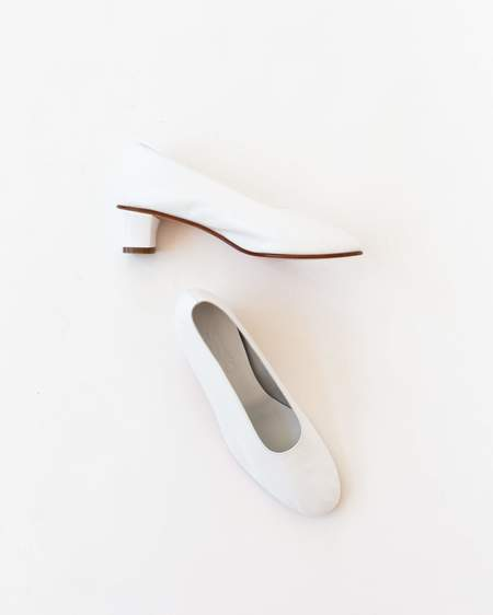 Martiniano High Glove Shoe - White