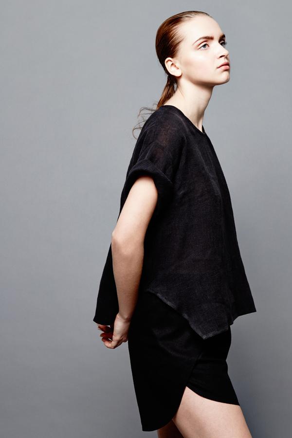 Devlyn Van Loon Overlay shorts - Black
