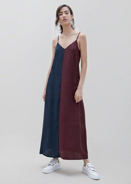 Milk & Thistle Harlequin Slip Dress