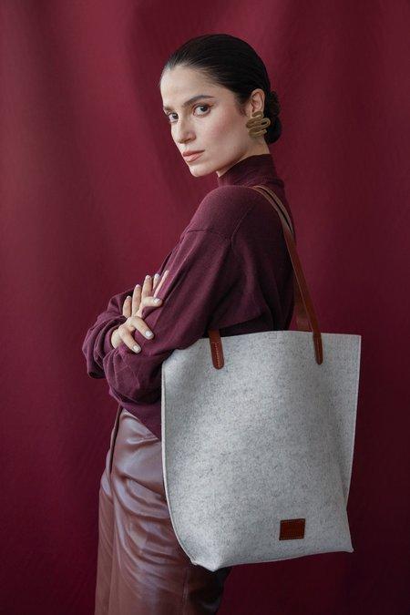 Graf Lantz Hana Set bag - Granite/Natural