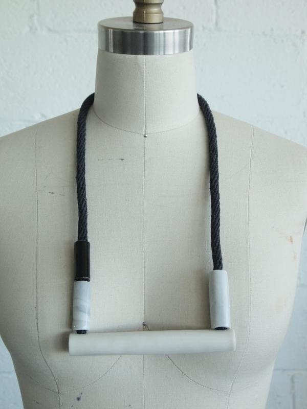 YYY Box Necklace