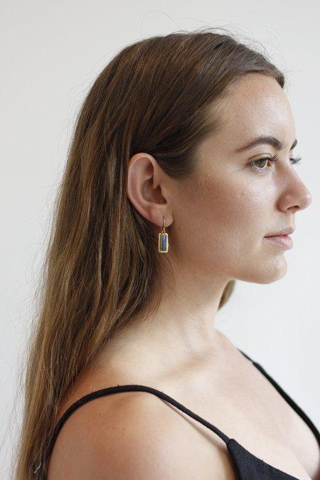 Margery Hirschey Boulder Opal Drop Earrings - Gold