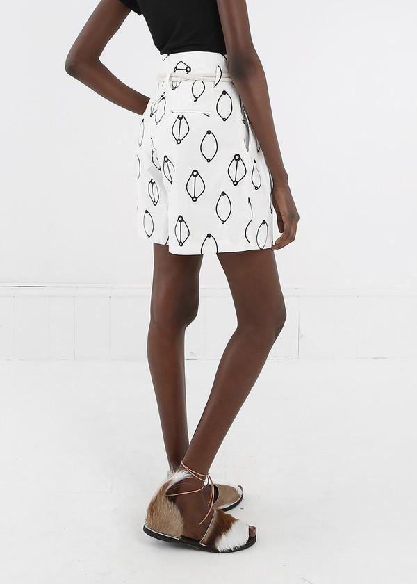 Delfina Balda Printed Armonia Shorts