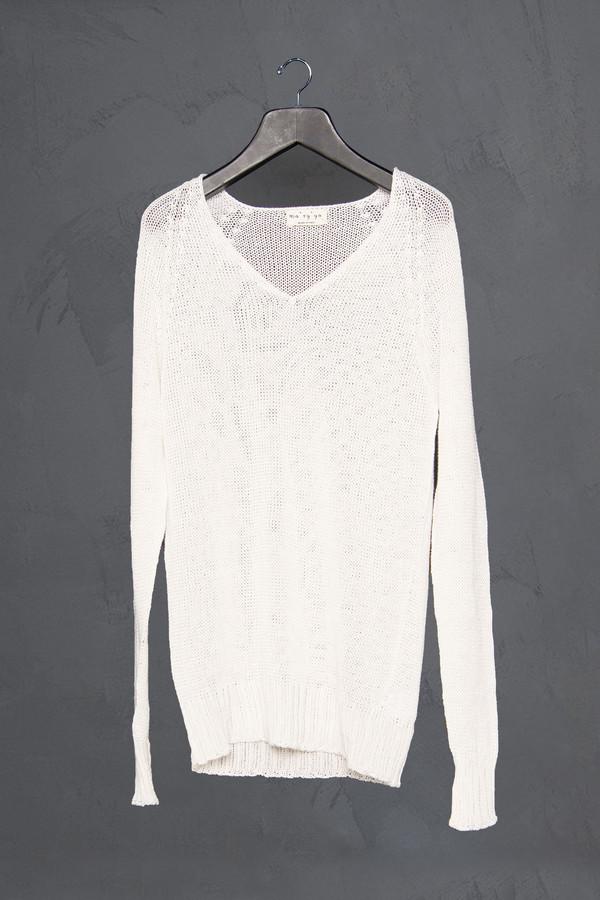 Ma'ry'ya Long V Neck Sweater
