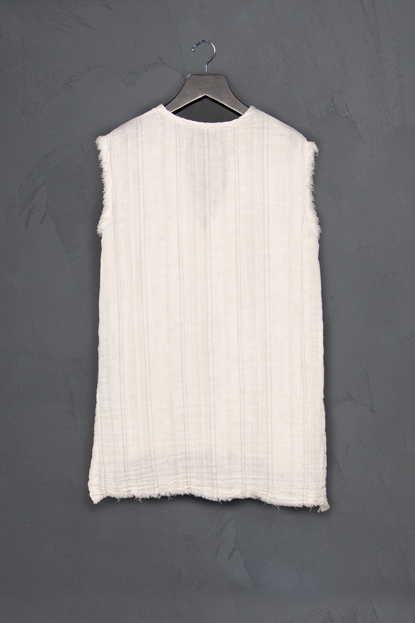 Raquel Allegra Striped Sleeveless Tunic