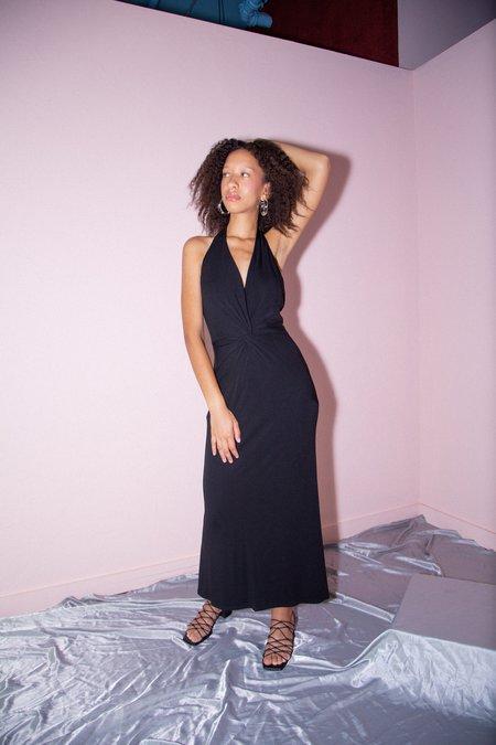 Vintage Nicole Bakti Roxy Dress - Black