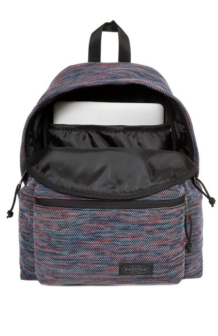 Eastpak PADDED PAK'R BACKPACK - KNITTED RAINBOW