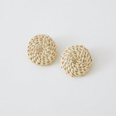 Crescioni terra earrings
