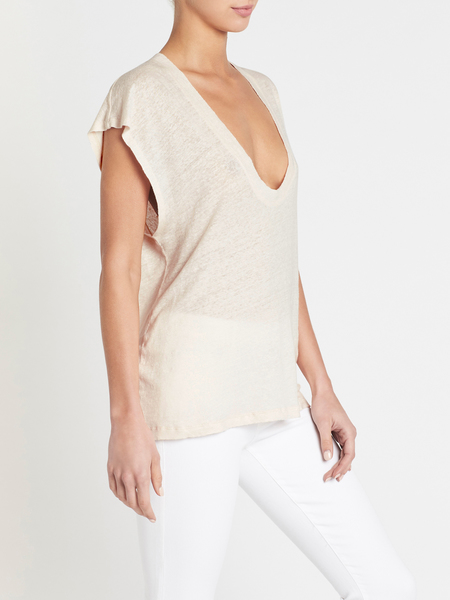 IRO Dirk T-shirt - Near White