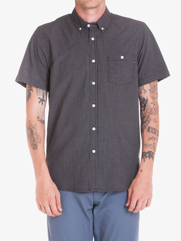 Men's Obey Keene S/S Shirt