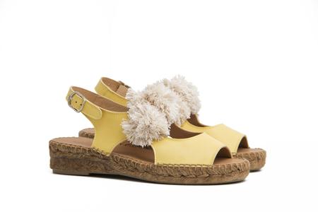 Naguisa RICI sandals - YELLOW