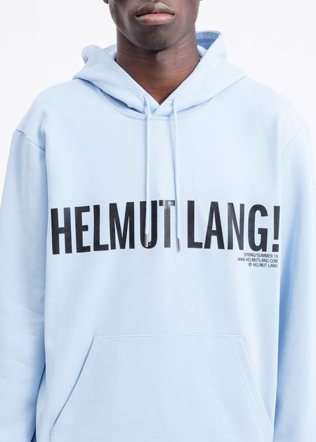 Helmut Lang Exclamation Hoodie - Flag