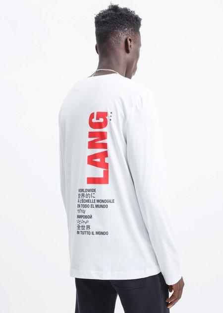 Helmut Lang Worldwide Long Sleeve - White