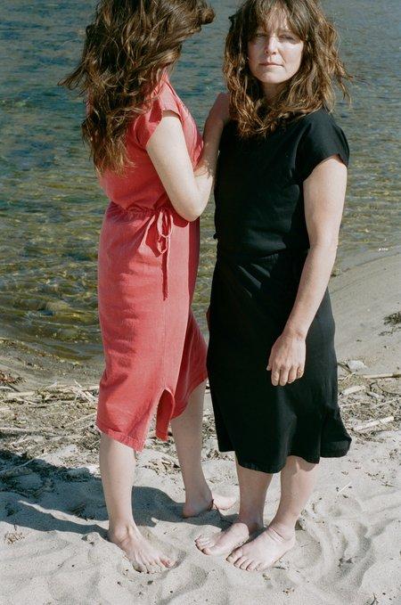 Calder Blake Barbara Dress - Vintage Red