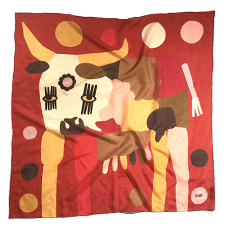 Eloi Winey Bandana - Festie Cow