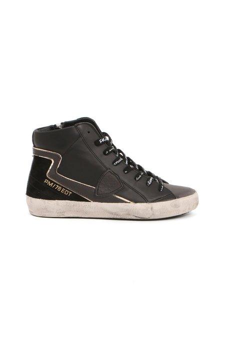 Philippe Model Paris High Top Sneaker - Noir