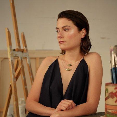 Nina Janvier Arp II short necklac