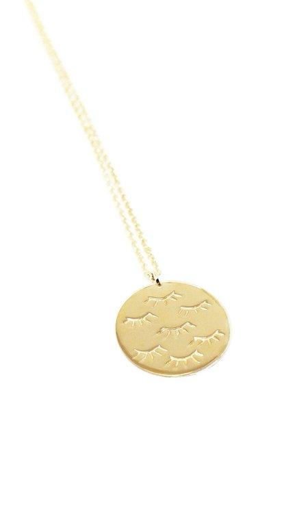 Nina Janvier Miya necklace - 14k Yellow Gol