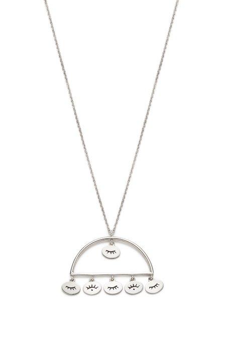 Nina Janvier Nadja necklace I - Sterling Silve