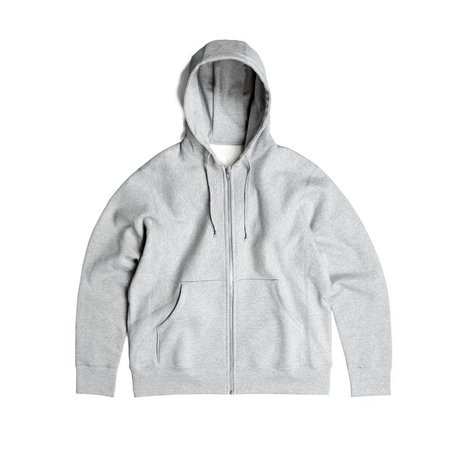 Robertson's Co. Standard Issue Zip-Up - Grey