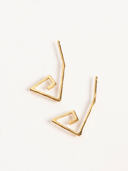 Alynne Lavigne Small Spiral Earrings