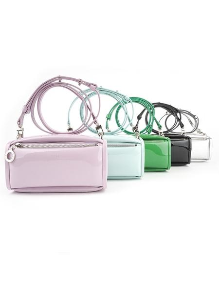 HYETHE Mini Soft Pillow Bag - Silver