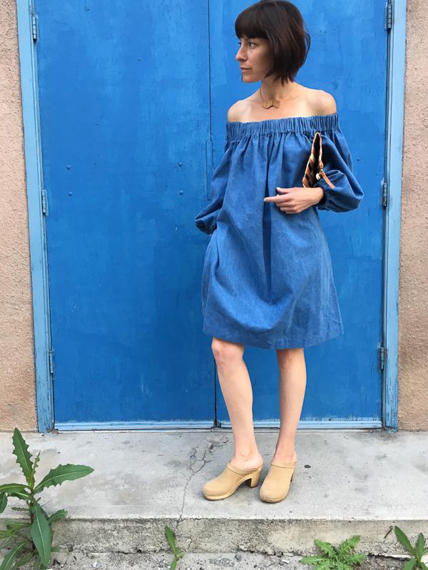 Eliza Faulkner lola dress