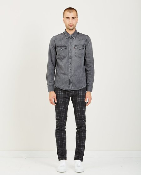 Levi's BARSTOW WESTERN - WASHED BLACK