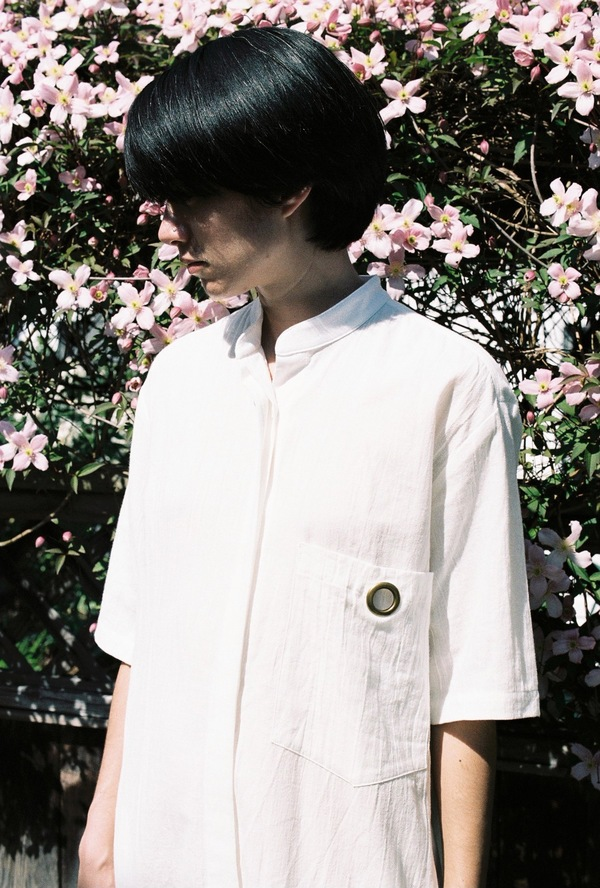 Assembly Shirt Dress - white