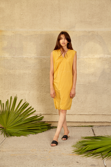 Tantuvi Wrap Dress- Sunray