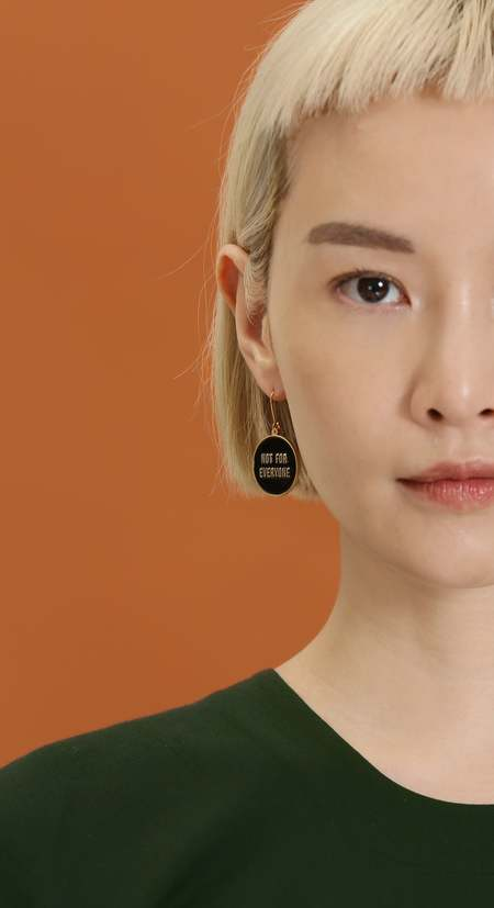 Matter Matters Not for Everyone + Reserved Reversible Earrings