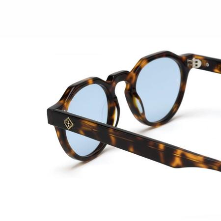 Wonderland Fontana Sunglasses - Brown Tortoise/Blue