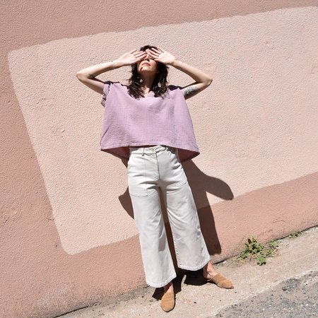 Atelier Delphine Celeste Top - Desert Lavender