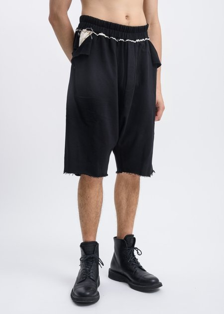 Faineant Panel Jersey Shorts - Black
