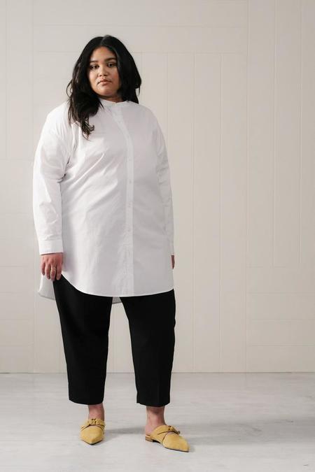 And Comfort - The Tunic Shirt - White