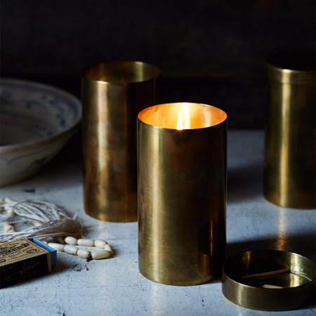 bellocq no. 38 majorelle mint candle