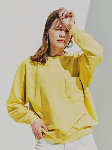 FAYRI Sunday Washed Pocket Sweatshirt