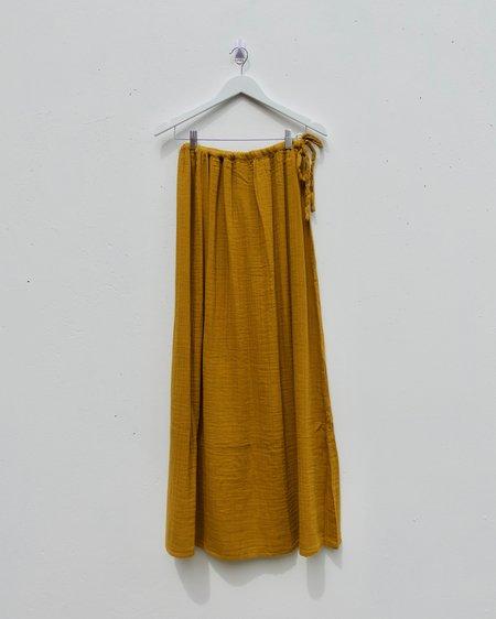 Numero 74 Ava Long Skirt - Gold