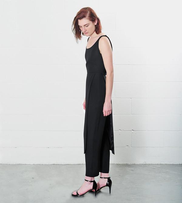 Catherine Quin Black Seagram Jumpsuit