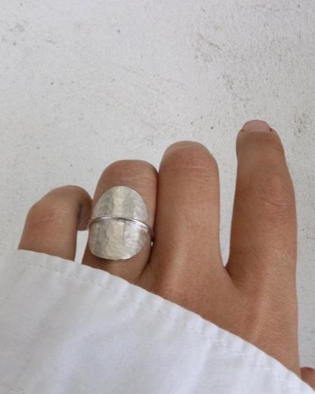 Argent Silversmith Inside Out Ring - Sterling Silver